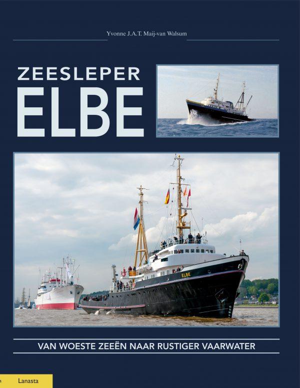 Boek zeesleper Elbe