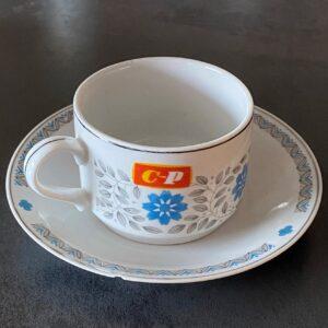 Kop en schotel Chinese Polish